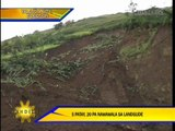 5 dead, 20 missing in Bukidnon landslide