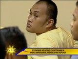 Witness' testimony in massacre trial blocked