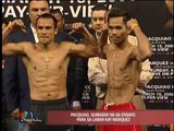 Pacquiao starts training for bout with Marquez