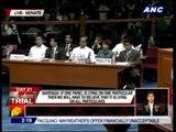 Miriam has palpitations in impeach trial