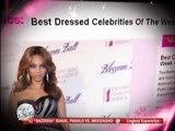 Tyra Banks wears Francis Libiran creation