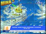 'Mina' weakens but PAGASA warns of stronger typhoons