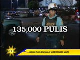 135,000 cops deployed for Holy Week