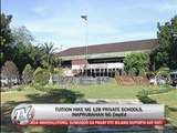 DepEd approves tuition hike in 128 private schools