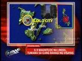Earthquake felt in Visayas areas