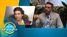 ¡DEFIENDE A SU PEQUEÑO! Sergio Mayer salió en defensa de su hijo como papá. | Venga La Alegría