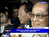 Abalos' supporters demand his release