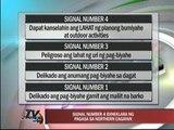 Signal number 4 nakataas sa northern Cagayan