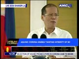 PNoy rallies allies behind Corona impeachment