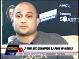 BJ Penn gives advice to MMA athletes