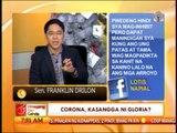 Punto por Punto: CJ Corona, kasangga ni Gloria?