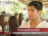 Piolo takes part in ABS-CBN's feeding program