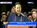 Corona warns vs 'Aquino dictatorship'