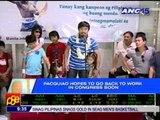 Pacquiao back in PH, addresses critics