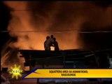 Fire hits QC slum area