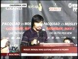 Pacquiao, Mosley start US press tour