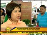 Organic products alternative food for Noche Buena