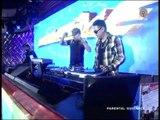 Ted Failon shows DJ skills