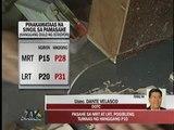 P10 fare hike for LRT, MRT looms