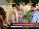 Quezon lauds ABS-CBN's Dindo Amparo