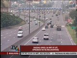 Malacañang okays MRT, LRT fare hike