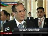 Aquino on 2-day state visit to Vietnam