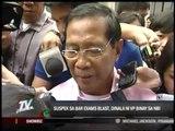 Binay turns over bar exams blast suspect to NBI