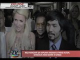 EXCL: Pacquiaos recall moments with Paris Hilton