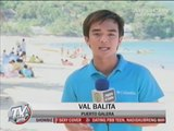 Tourists flock to Puerto Galera for long weekend