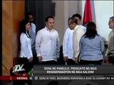 Cabinet members satisfied with Aquino's SONA