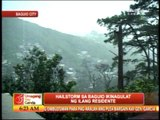 Hailstorm surprises Baguio residents