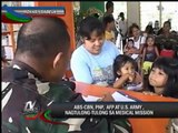 ABS-CBN in medical mission with PNP, AFP, US Army