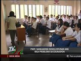 Aquino tells tutors: Education woes to be solved