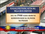 Regular wages for public bus drivers eyed