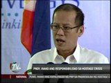 PNoy takes responsibility for bloody hostage drama