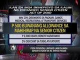 850,000 seniors won't get P500 pension