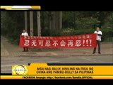 Go easy on anti-China protests, travel agencies say