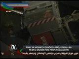 Pinay engineer killed, 2 hurt in Iraq hotel fire