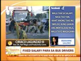 Punto por Punto: Will fixed salary for drivers lessen bus accidents?