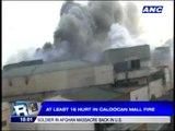 16 hurt in Caloocan mall fire