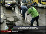 Bayan Patrollers report 2 open manholes in Pasig City