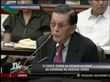 TV network execs grilled in Senate's hostage hearing