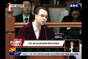 Senator-judges denounce defense's 'bribery' allegations