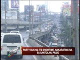 Showtime's party bus reaches 1st stop in Pasig