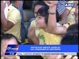 Pacquiao kids celebrate dad's victory