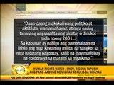 Aquino gov't criticized for rights violations