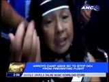 Arroyo camp asks SC to stop DOJ from preventing travel