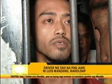 Robbers of Luis Manzano's taxi nabbed