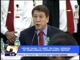 House committee finalizing report on Ombudsman's impeachment case