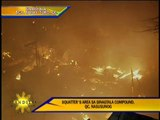 Fire razes QC slum area